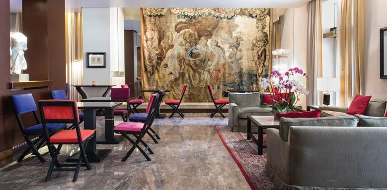 Grand Hotel Francia & Quirinale, lounge bar interior