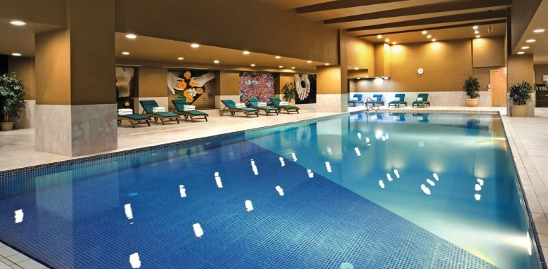 Intercontinental Malta, indoor pool