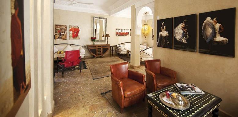 Riad Dar Justo, lounge