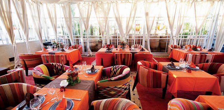 Riad Dar Justo, restaurant