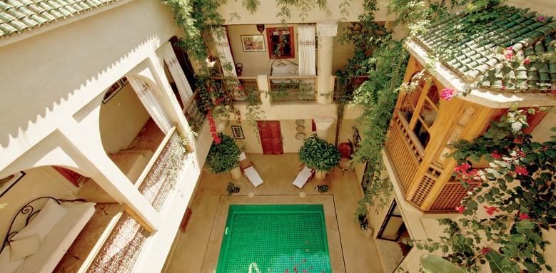 Riad Dar Justo, pool view