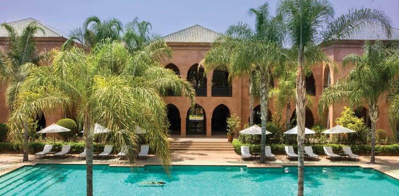 Palais Aziza, Main pool