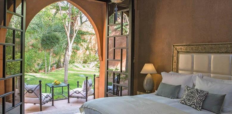 Palais Aziza, Superior Garden view room