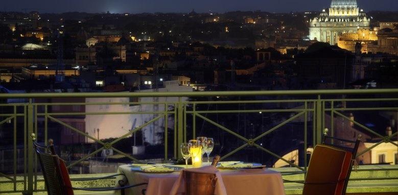 Sina Bernini Bristol, outside dining