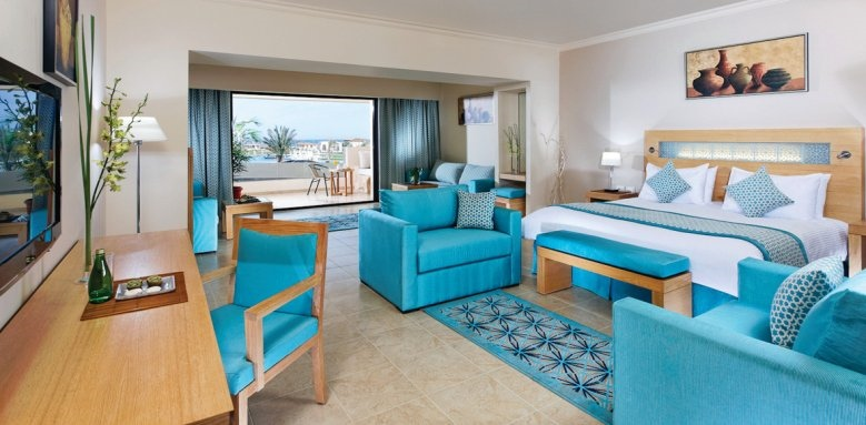 Movenpick Resort Soma Bay, family room