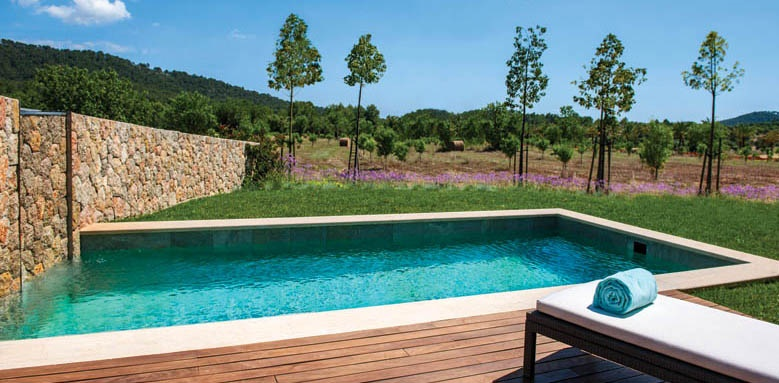 Castell Son Claret, pool suite pool