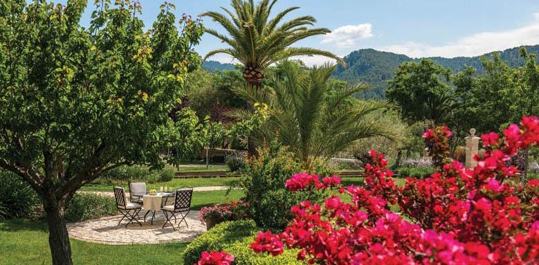 Castell Son Claret, garden
