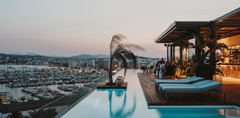 Aguas de Ibiza, infinity pool