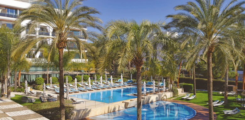 aguas de ibiza, pool and gardens