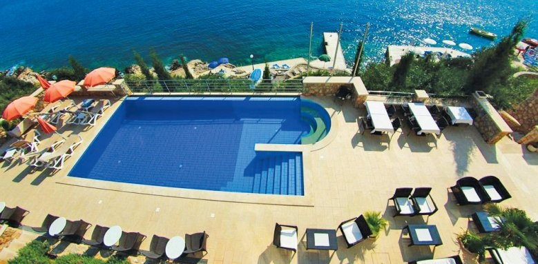 Hotel Bozica, pool