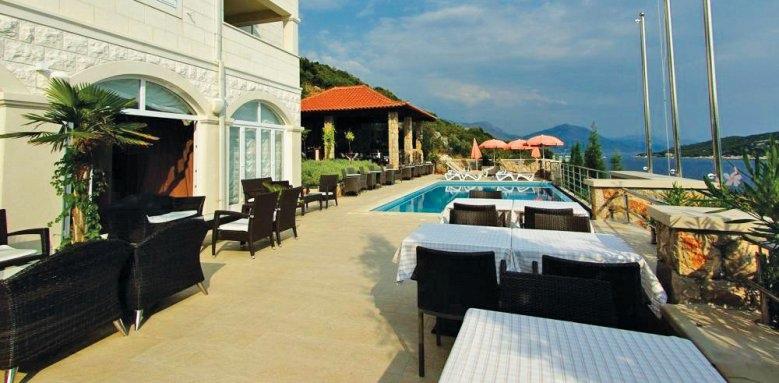 Hotel Bozica, terrace