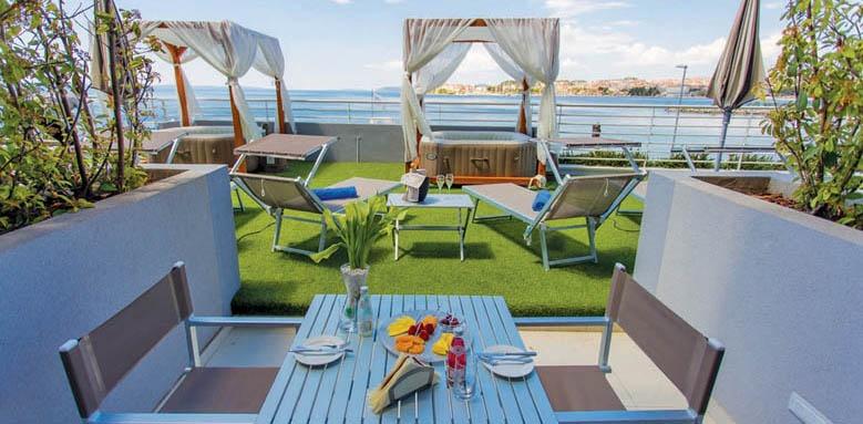 Hotel Split, terrace