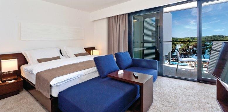 Hotel Laguna Parentium, double room with balcony & sea view