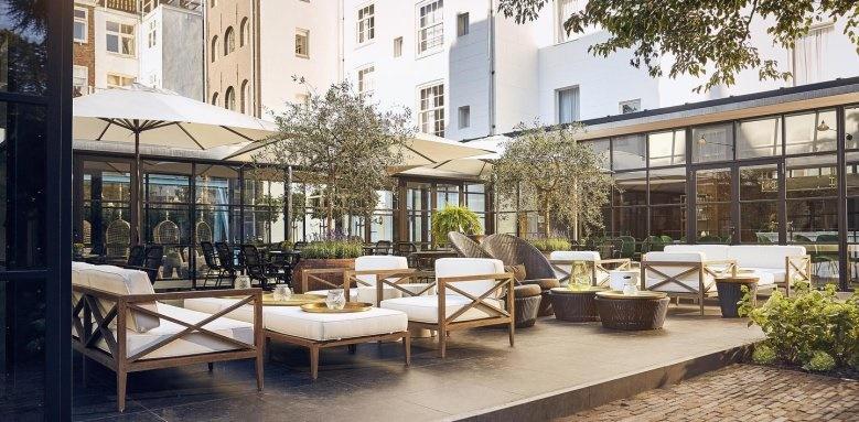Hotel Pulitzer, terrace