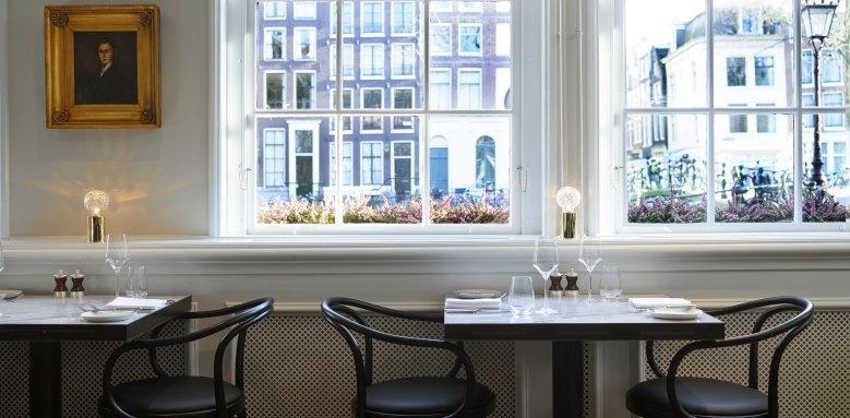 Hotel Pulitzer, lunch