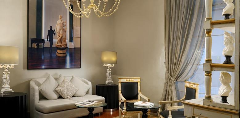 Brunelleschi Hotel,salotti lounge area