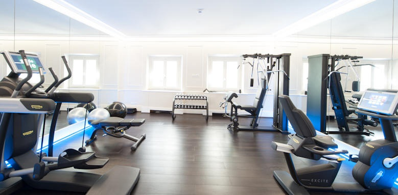 Brunelleschi Hotel, fitness room
