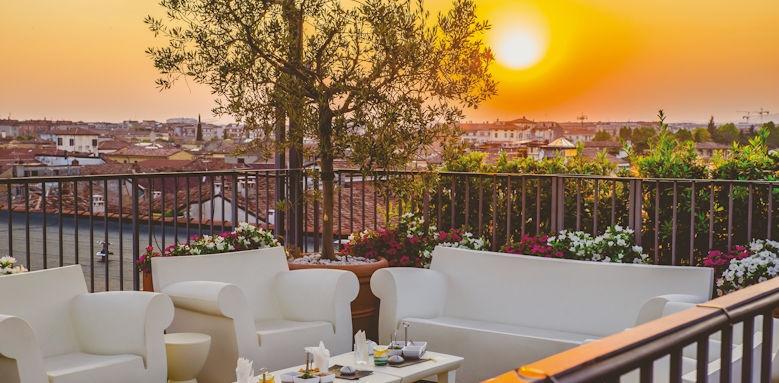 due torri, sunset terrace