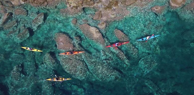 eagles palace, kayaking