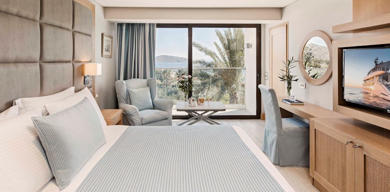 Elounda Bay Palace, deluxe room sea view
