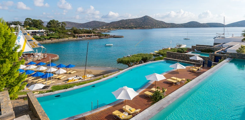 Elounda Bay Palace, view from the bungalows