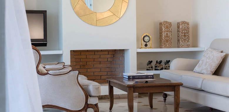 Elounda Gulf Villas & Suites, Mediterranean pool villa interior