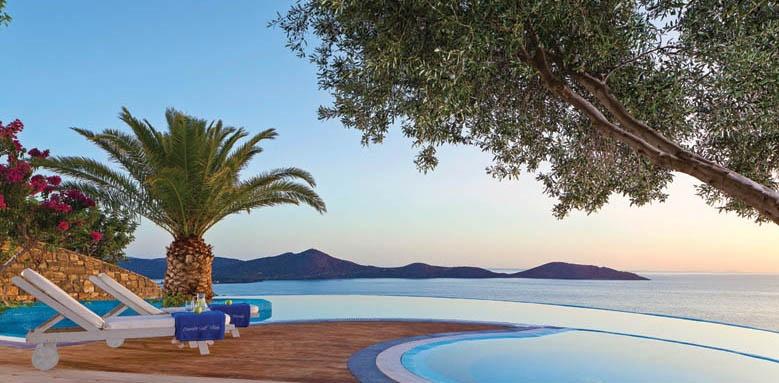 Elounda Gulf Villas & Suites, Presidential villa pool