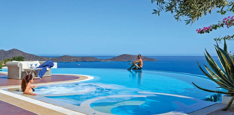 Elounda Gulf Villas & Suites, Royal Spa villa pool