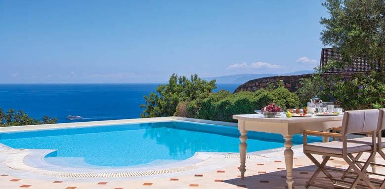 Elounda Gulf Villas & Suites, Aegean villa pool