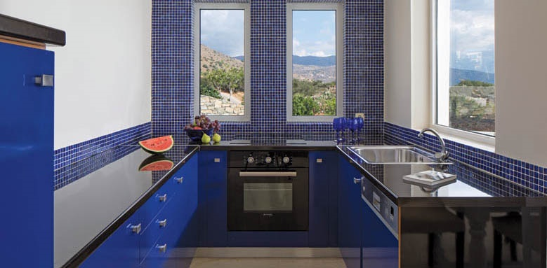 Elounda Gulf Villas & Suites, Agean Villa kitchen