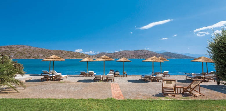 Elounda Gulf Villas & Suites, beach club