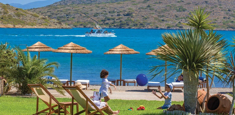 Elounda Gulf Villas & Suites, beach