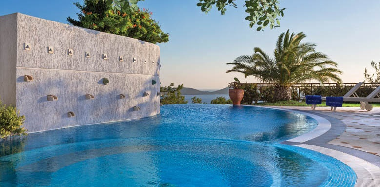 Elounda Gulf Villas & Suites, executive spa villa pool