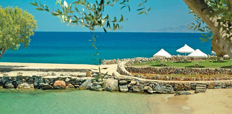 Elounda Mare, Private Beach