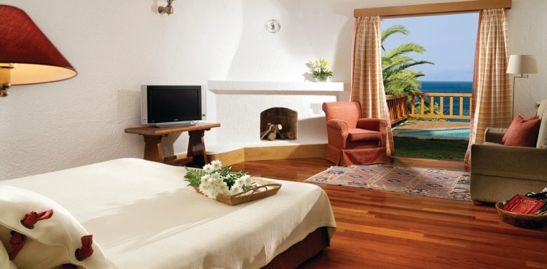 Elounda Mare Hotel , one bedroom superior bungalow
