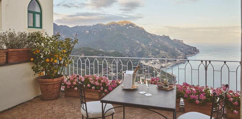 belmond hotel caruso, balcony view