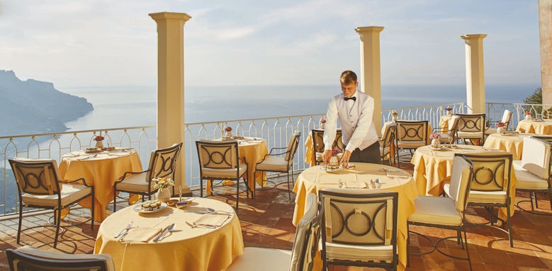 belmond hotel caruso, restaurant