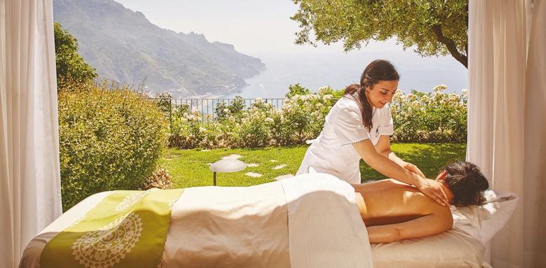 belmond hotel caruso, massage