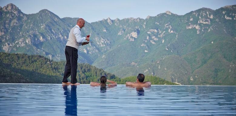 belmond hotel caruso, pool service