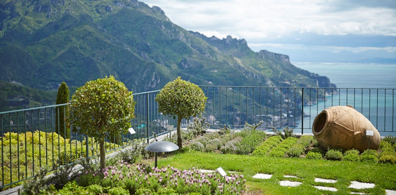 belmond hotel caruso, garden views