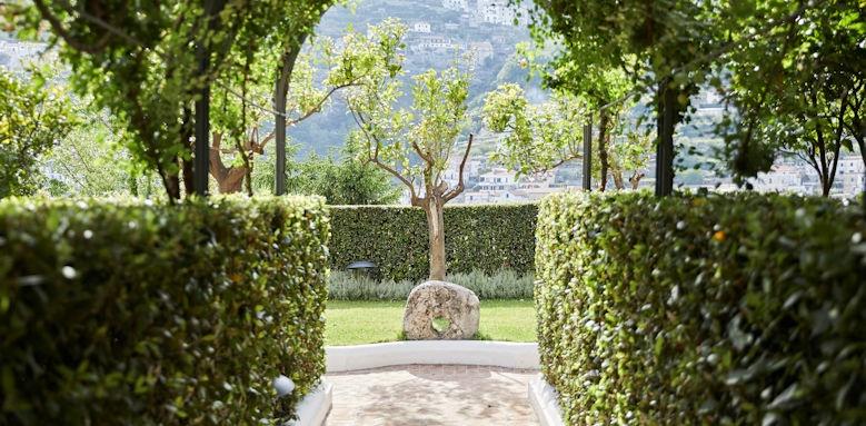 belmond hotel caruso, gardens