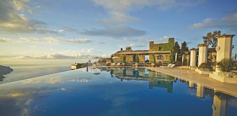 belmond hotel caruso, infinity pool