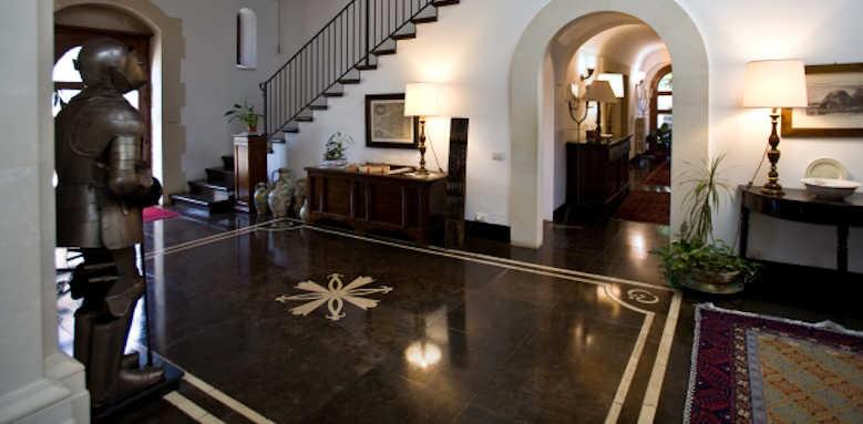 Eremo Della Giubiliana, hallway