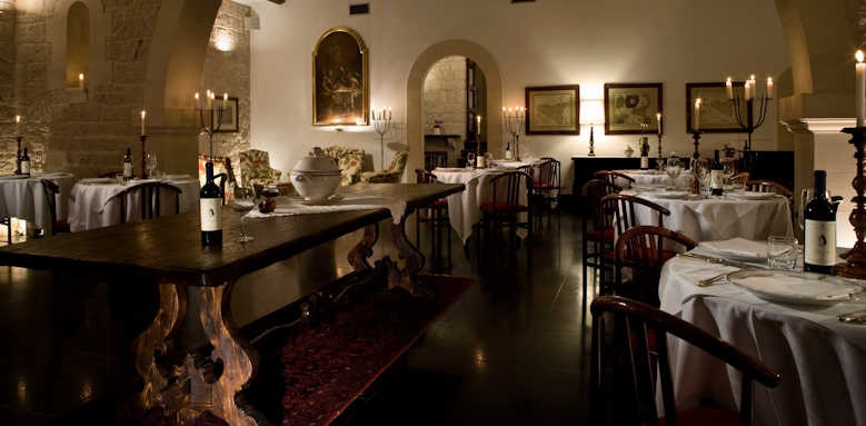 Eremo Della Giubiliana, restaurant