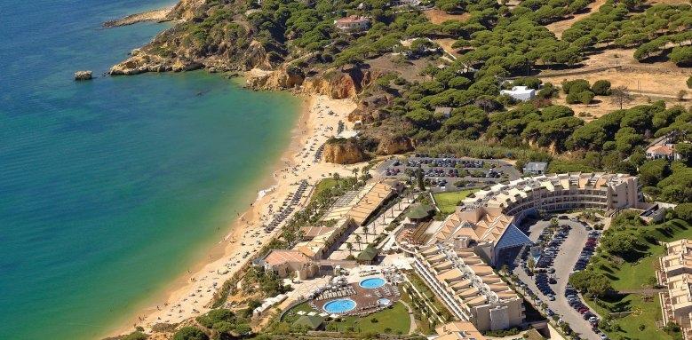 Grande Real Santa Eulalia Resort & Hotel Spa, aerial view