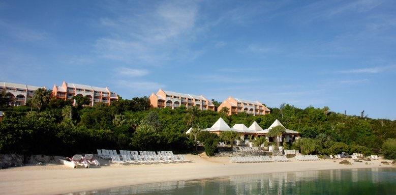 Grotto Bay Beach Resort, beach
