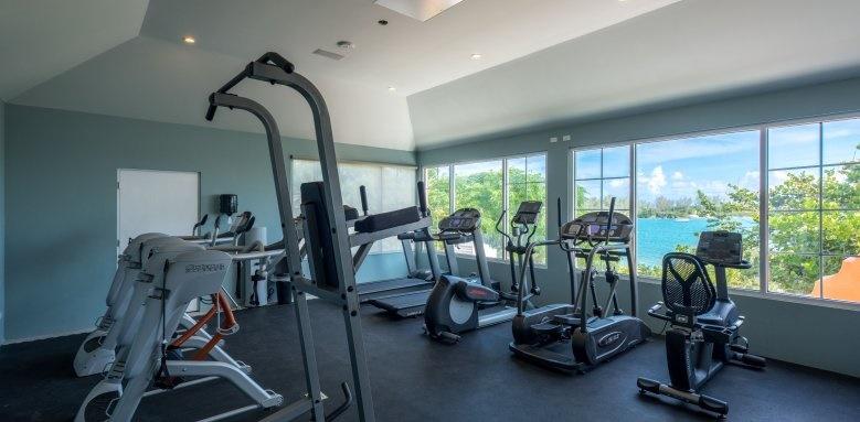 Grotto Bay Beach Resort, gym