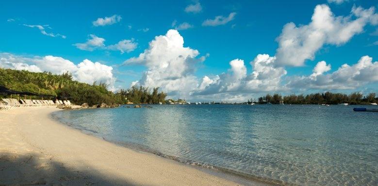 Grotto Bay Beach Resort, beach and sea