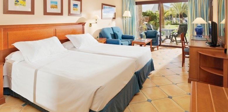 H10 Playa Meloneras Palace, twin room garden view