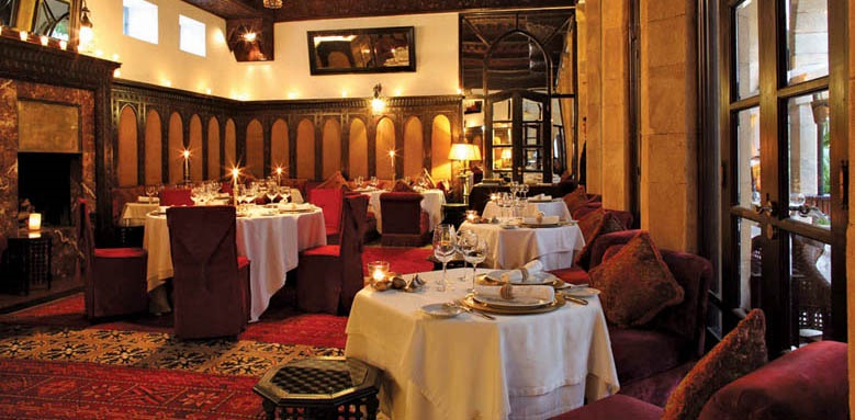 Heure Bleue Palais, Restaurant